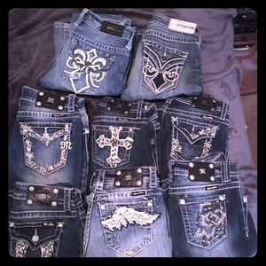 Miss me and affliction jeans